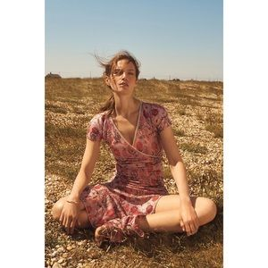 Anthropologie Cecilia Prado Posy Floral Maxi Dress